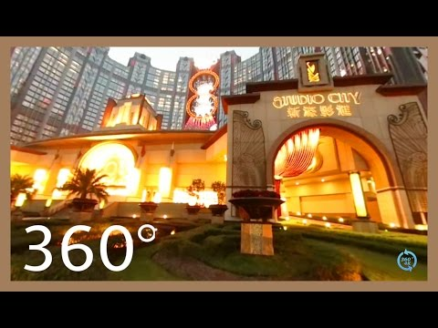 360° video VR - Gotham Batman Style Hotel China - Arkham 4K