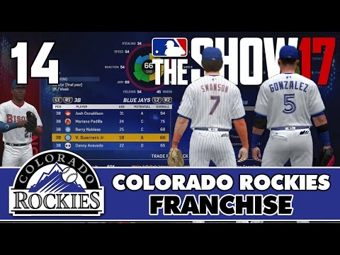 "MLB The Show 17 Rockies Franchise ep. 14 - ""Trading Carlos Gonzalez?!"" (2017 Trade Deadline)"