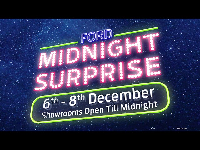 Ford Midnight Surprise- 2019