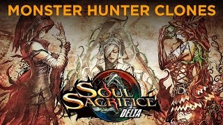 Monster Hunter Clones - Soul Sacrifice Delta Review