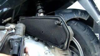 Zdjecie blokady z filtra powietrza - Kingway Coliber