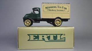 1926 Мак бульдог фургон | ЭРТЛ - Нюрнберг Міжнародна виставка іграшок 1997 | Масштабна модель