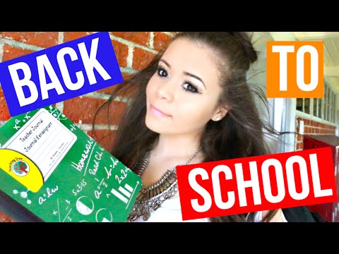 Perfect Back To School Hair, Makeup & Outfit! | Krazyrayray