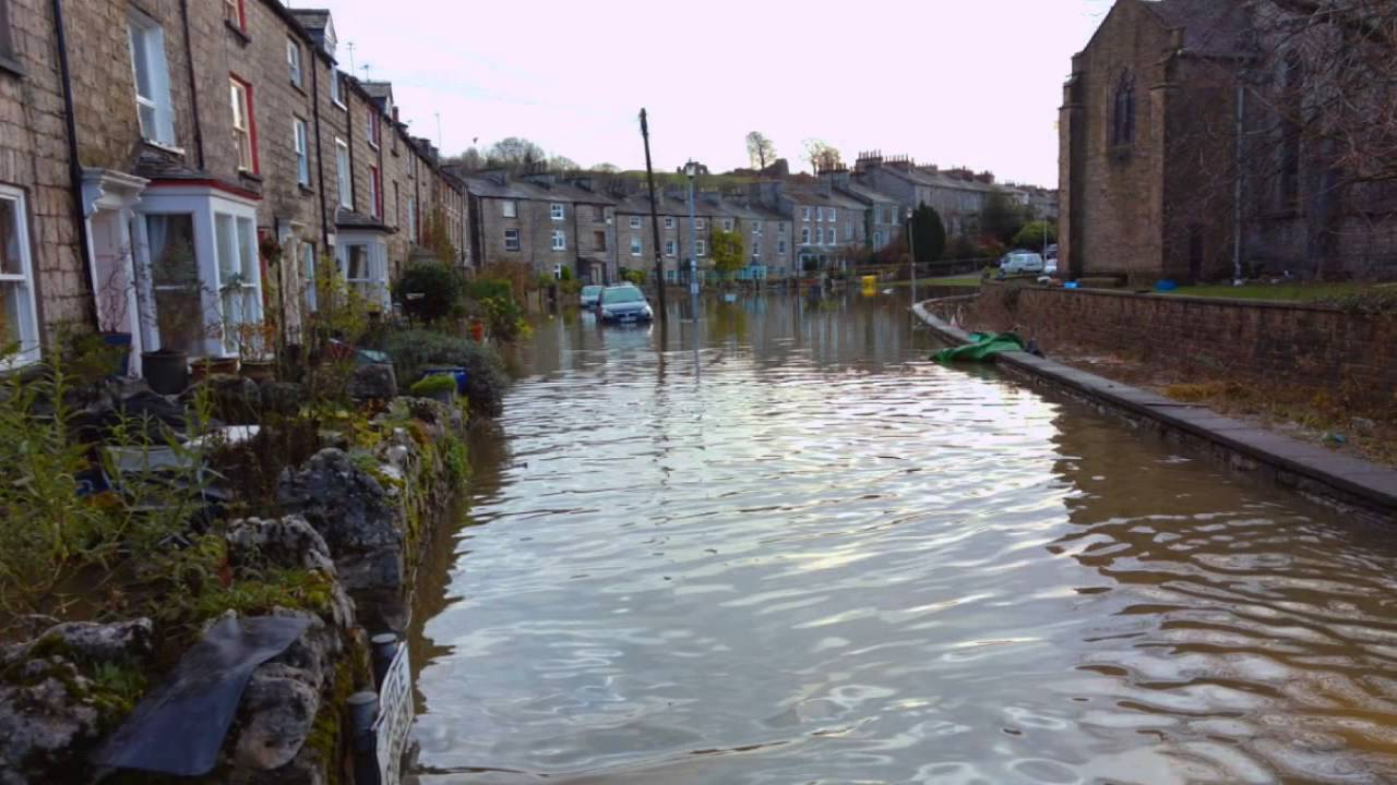 kendal floods and the devastation - december 2015