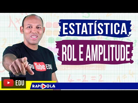 ROL E AMPLITUDE TOTAL ✅ ESTATÍSTICA