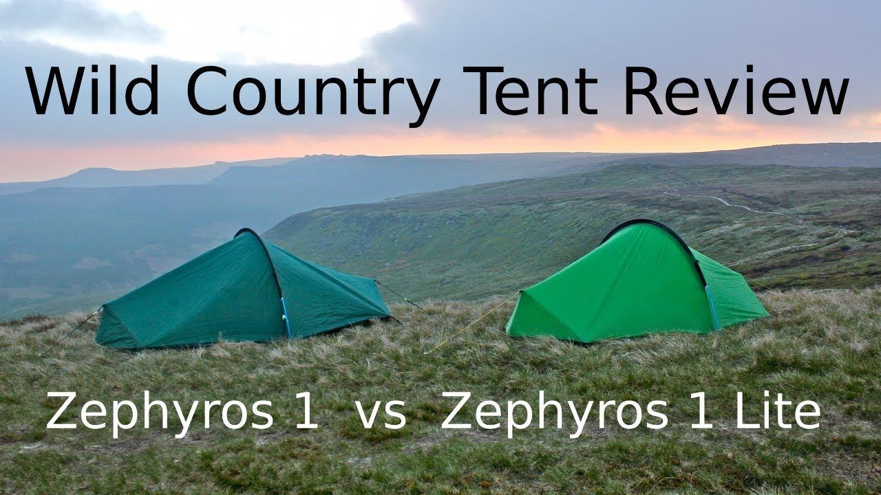 & Wild Country - Zephyros 1 vs Zephyros 1 Lite - Tent Review - YouTube