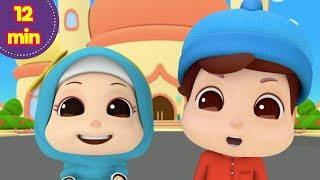Islamic songs for kids | compilation loving orphans and more omar & hana list: assalamu alaikum fasting is fun let's play together t...