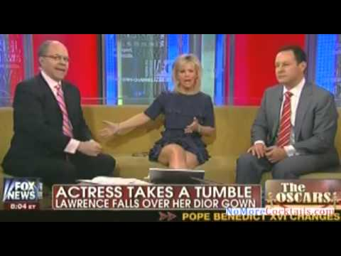 Fox & Friends: Does Jennifer Lawrence have deliberate wardrobe malfunctions to garner attention?