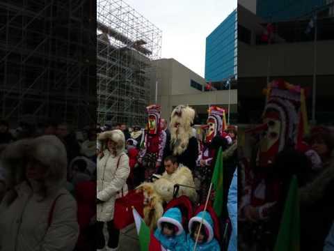 Bulgarian Flag Raising Ceremony Calgary