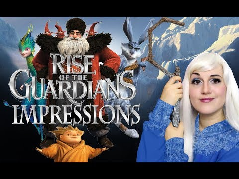 Rise Of The Guardians Impressions  DreamWorks  Madi2theMax