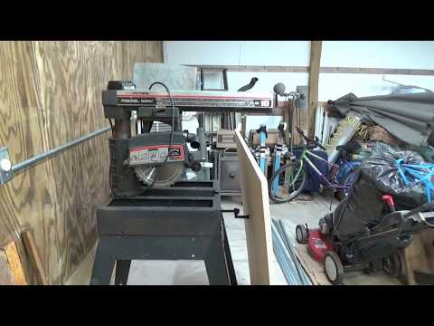 Redoing The Radial Arm Saw