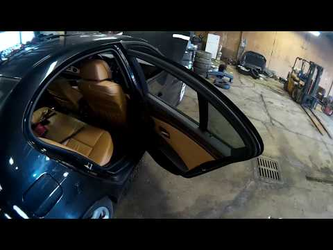 Bmw E60 2004 2010 Rear Door Disassembly Youtube