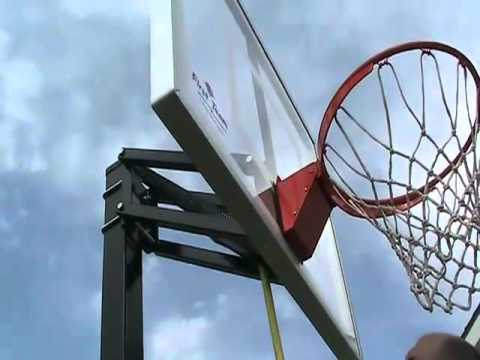 Champ Insta Just Adjustable Basketball Goal Youtube