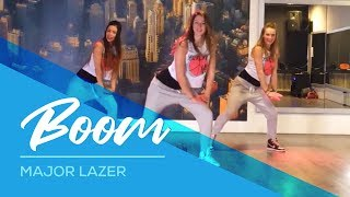 Major Lazer - Boom - Easy Dance Fitness Choreography