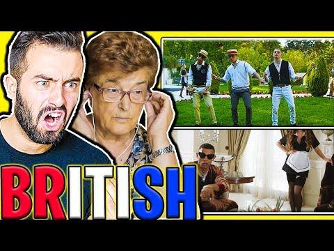 MIA NONNA REAGISCE A BRITISH - Dark Polo Gang (PARODIA)