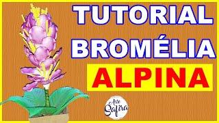 FLOR BROMELIA ALPÍNA DE E V A