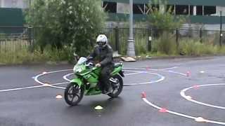 Экзамен на категорию А   Габаритная восьмерка Stels CB 200. eight on a motorcycle(, 2015-07-22T14:30:07.000Z)
