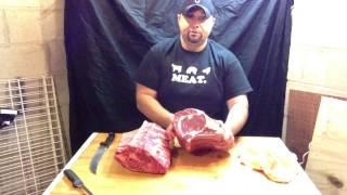 Ted the Butcher: Beef - Bone-In Prime Rib Roast