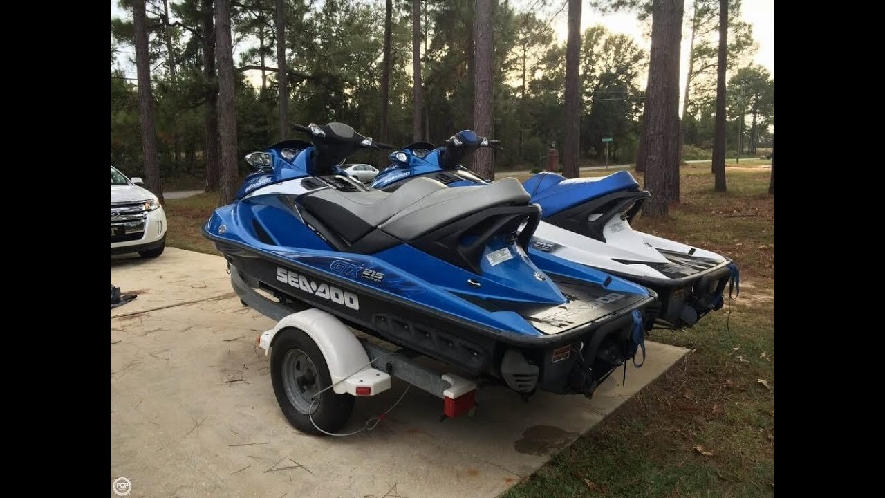 UNAVAILABLE] Used 2009 Sea-Doo GTX 215 Limited (Pair) in Theodore ...