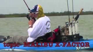 Yak'ntexas- Malibu X-factor Great Big Guy Kayak! Kayak Fishing How To