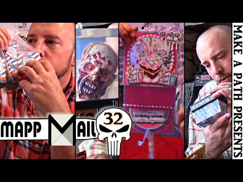 MAPP Mail 32: ZOMBIE HEADS TWD Figures B-Day for Juliet SOAP & More