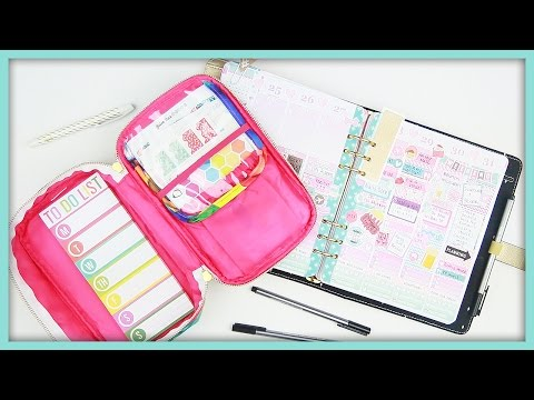 My Travel Planner Supplies!