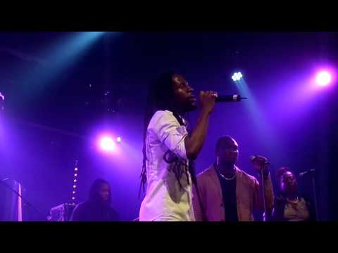 Jah Cure - Call On Me / That Girl    Live @ YAAM 1.11.2014