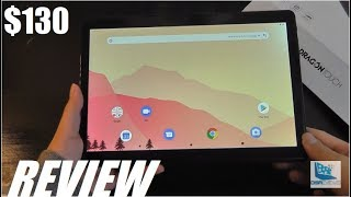 """REVIEW: Dragon Touch Max10 - Best Budget 10"""" Tablet, Android 9.0 [Octa-Core]"""