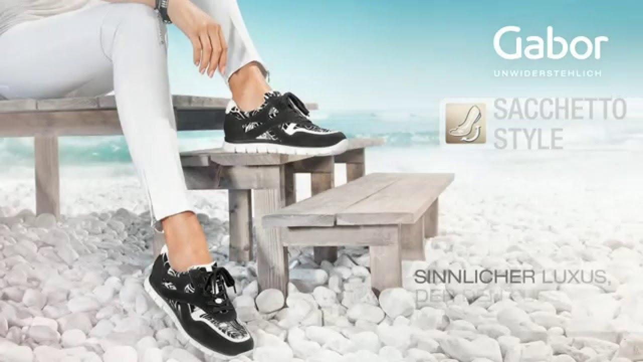 Gabor Shoes AG Sacchetto Style FrühjahrSommer 2016