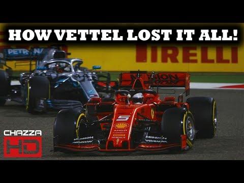 2019 Bahrain GP Incident Analysis - How Lewis Hamilton Forced Sebastian Vettel To Bottle It!