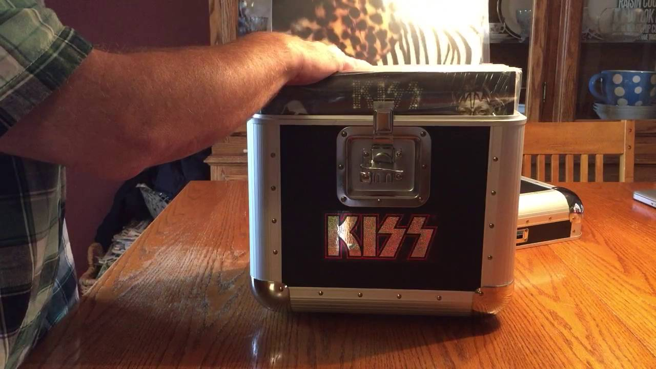 My Budget Kissteria Style Kiss Vinyl Road Case Youtube