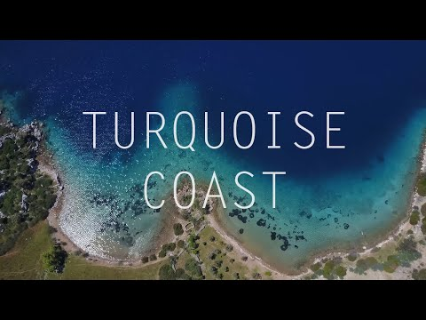 Turkey's Turquoise Coast in 4K