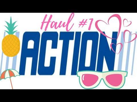 HAUL #1 ACTION SHOPPING DECO BEAUTÉ ENFANT VETEMENTS ACCESSOIRES