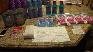 Target Couponing Haul 6/24----FEBREZE deal and more FREE ORAL CARE ITEMS Thumbnail