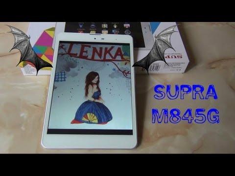 Планшет с 3G, SUPRA M845G плюсы и минусы / Арстайл /