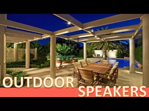 Outdoor speakers high quality audio for surround sound back yard theater  with audio - Outdoor Speakers High Quality Audio For Surround Sound Back Yard