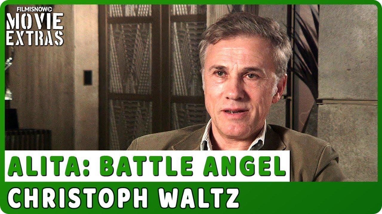 ALITA: BATTLE ANGEL | On-set Interview with Christoph Waltz