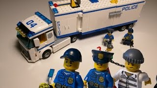 LEGO CITY Mobile Police Unit 60044 Speed Build