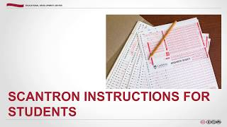 Scantron Instructions for Students