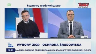Rozmowy niedokończone: Wybory 2020 – ochrona środowiska cz. I