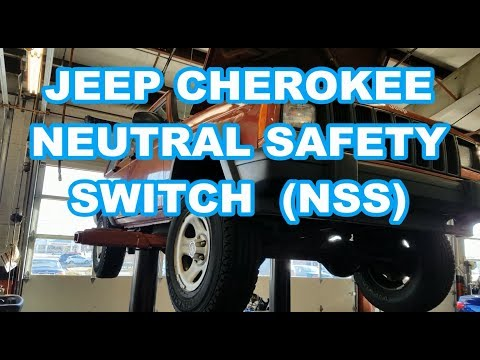 jeep cherokee nss replacement neutral safety switch quick! comanche 94 Jeep Cherokee Starter