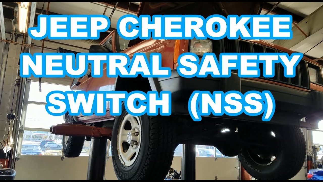 91 Jeep Cherokee Neutral Switch Wiring Diagram Schematics 1988 Dodge Safety Nss Replacement Quick Youtube