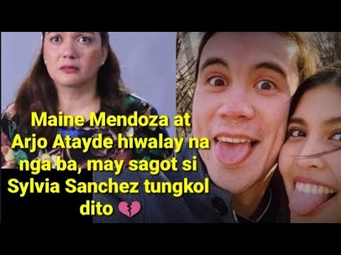 Maine Mendoza at Arjo Atayde hiwalay na nga ba, may sagot si Sylvia Sanchez tungkol dito!