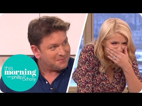 Holly Struggles to Eat James Martin's Crème Brûlée | This Morning