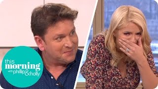 Holly Struggles to Eat James Martin
