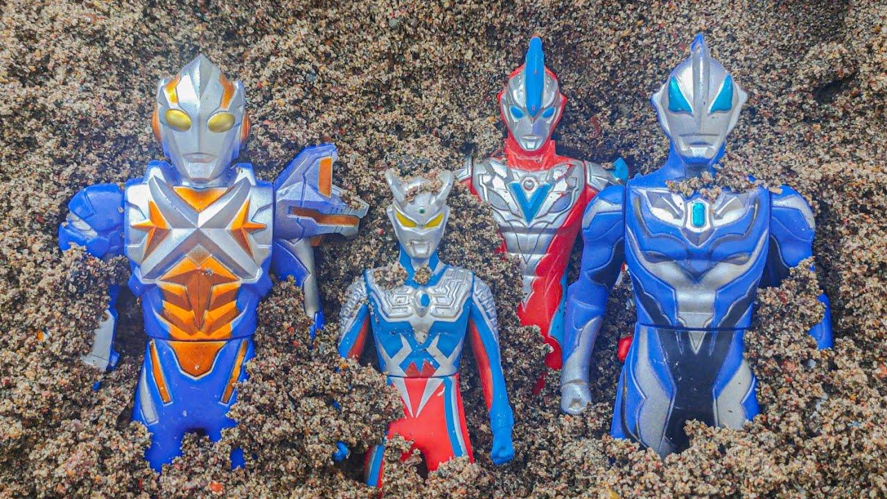 Menemukan Kotak Mainan Ultraman Zero Baru