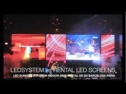 RENTAL LED SCREENS DISPLAYS SALE Paris London Berlin LEDSYSTEM