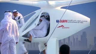 [exclusive] first look at drone taxi's in dubai