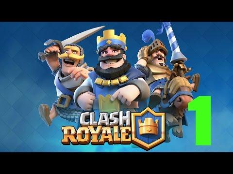 Clash Royale - ОБЗОР И НАЧАЛО...