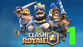 Clash Royale - ОБЗОР И НАЧАЛО ВОЙНЫ - (часть 1)